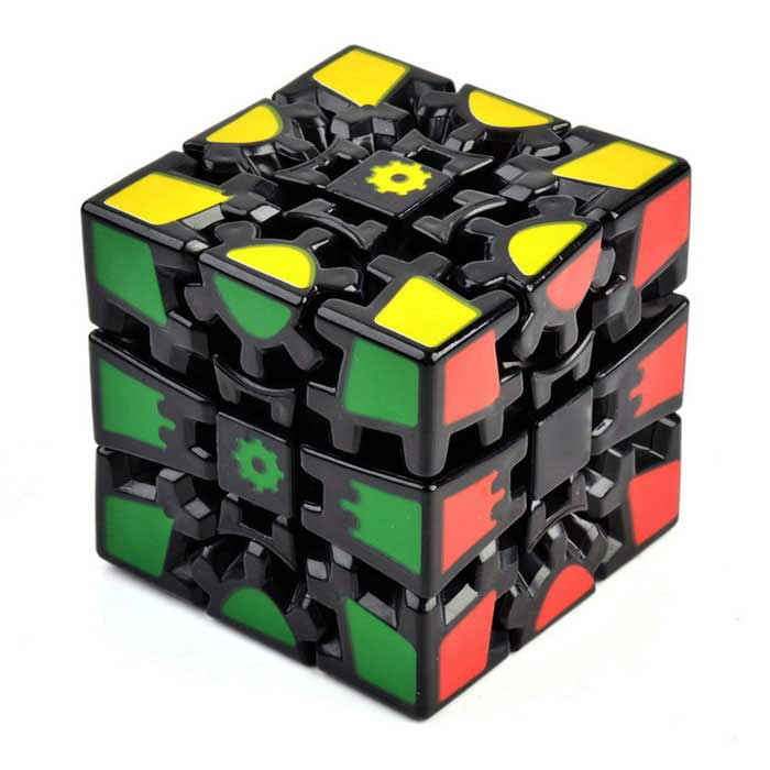 6cm 3D Gear Magic IQ Cube - Black + MulticoloredMagic IQ Cubes<br>Form  ColorBlack + MulticolorModelN/AMaterialABS + PVCQuantity1 DX.PCM.Model.AttributeModel.UnitTypeOthersSuitable Age 8-11 years,12-15 years,Grown upsOther FeaturesForbid the children under 3 years old to play.Packing List1 x Magic cube<br>