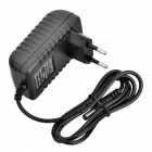 12V 1A Power Supply Adapter for LED Light/IP Camera - Black (EU Plug)