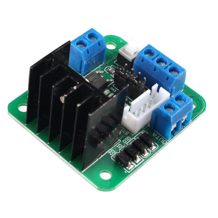 l298n dual h bridge dc stepper motor controller board for