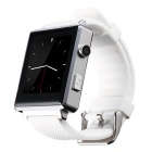 "CRERCO F5 1.54"" TFT LCD Smart Bluetooth Watch w/ SIM, TF Slot for IOS / Android Phone - White+Silver"