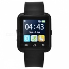 U80 PFT022 Bluetooth V4.0 Smart Wrist Wrap Watch for Android - Black