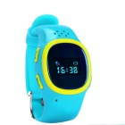 J520 GPS&LBS Location Kids Smart Watch Phone w/ Record Review - Blue