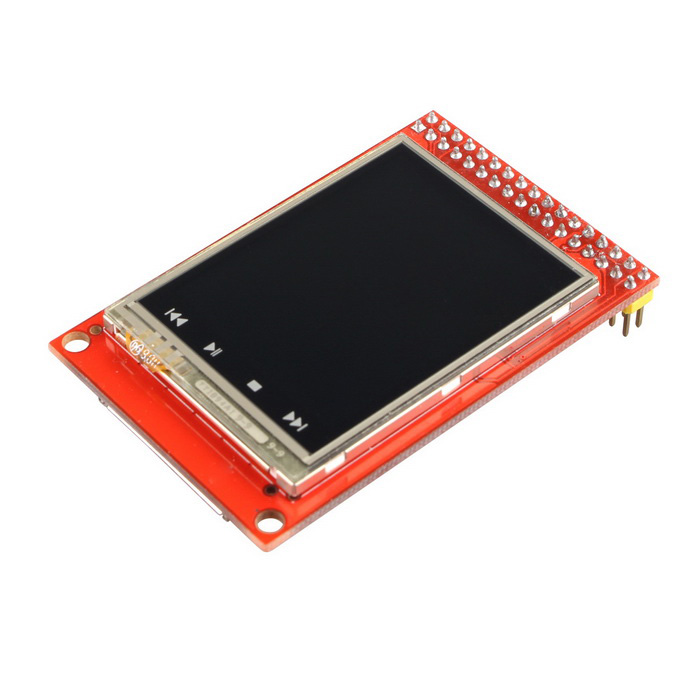 Quot tft lcd touch sensor screen display shield module for