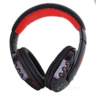 VYKON High Quality Universal Stereo Bluetooth Headphone - Black + Red