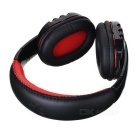 VYKON Universal Stereo Bluetooth Headphone - Black + Red