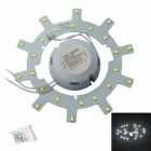 Jiawen 12W 24-SMD White Light Source for Ceiling Lamp / Magnetic Nails