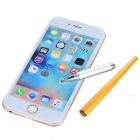 Drawing TouchPen Stylus for Phone / Tablet PC - Gold + Silver