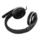 OVLENG 3.5mm Headphone Headset w/ Mic, Wire Control - Black