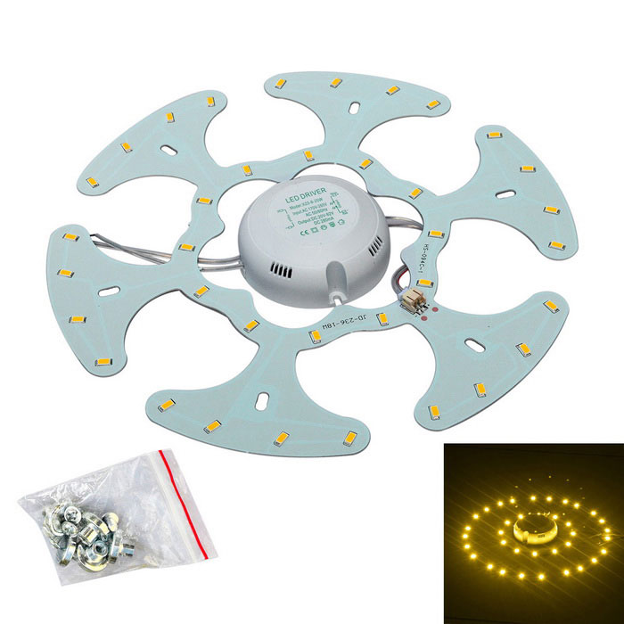 JW 36-SMD Warm White Light Source w/ Magnetic Nails for Ceiling Lamp