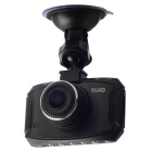 "D90 1080P 3"" TFT 5MP 140' CMOS Loop Record Car DVR - Black"