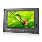"FEELWORLD FW5D/O Portable 800x480p Camera-Top Field Monitor w/ 5"" Screen / Peaking Focus - Black"