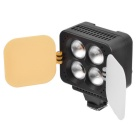 ZIFON T4 luz de video LED ajustable 10.5W 1000lm DV luz de relleno