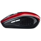 Wireless Bluetooth V2.0 Rechargeable Mouse - Red + Black