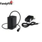 FandyFire 8.4V 5000mAh 6 x 18650 Waterproof Bike Like Battery Pack + US Plug Charger