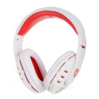 VYKON Universal Stereo Bluetooth Headphone - White + Red
