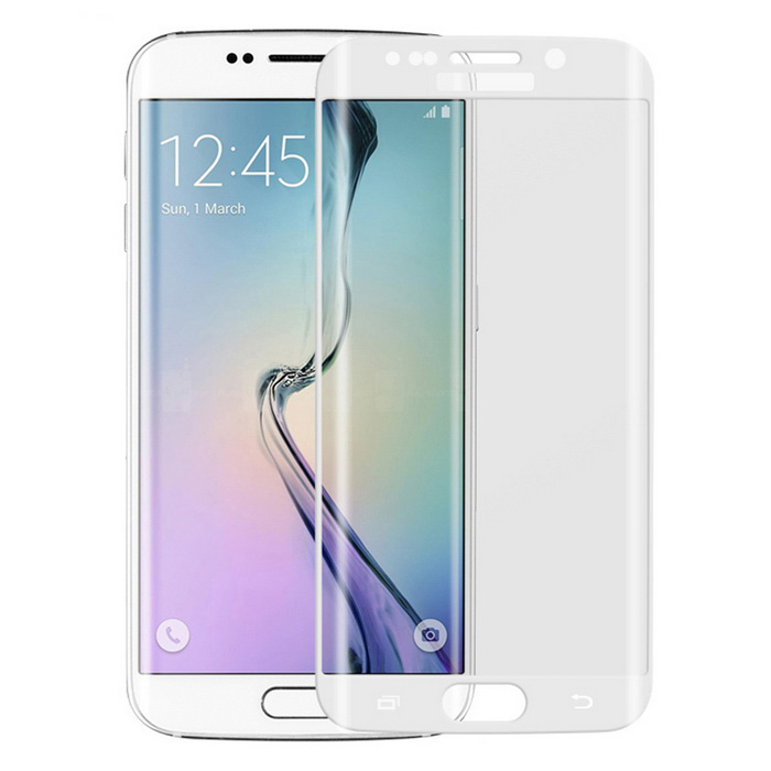 ASLING Full Cover Tempered Glass Film for Samsung S6 Edge Plus - WhiteScreen Protectors<br>Form  ColorWhiteScreen TypeGlossyModelASL-168MaterialTempered glassQuantity1 DX.PCM.Model.AttributeModel.UnitCompatible ModelsSamsung Galaxy S6 Edge PlusPacking List1 x Tempered glass film1 x Cleaning cloth1 x Professional screen wipe towelette1 x Alcohol prep pad<br>