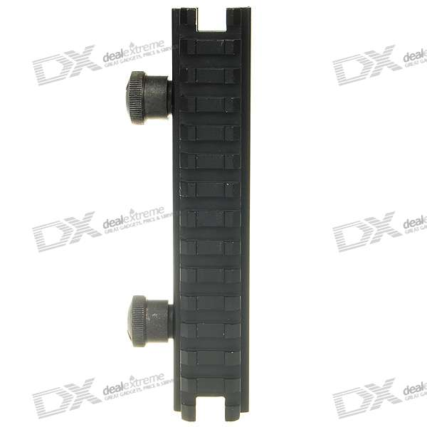 "5"" Low Aluminum Alloy Scope Mount Base for M4A1 - Black (144mm)"