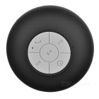 Bluetooth V3.0 Waterproof Mini Speaker w/ Suction Cup - Black + Grey