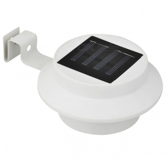 Solar Power Garden LED Light No Wiring for Garden Lighting - White