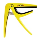 AROMA AC-01 Metallic Capo for Folk Guitar / Electric Guitar - Yellow
