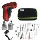 Portable Eletrônica Lock Pick Gun w / US Plugss Power Adapter