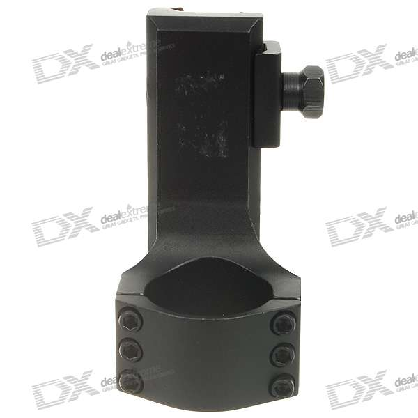 Aluminum Alloy Mount Rings for MP9/G3 - Black