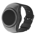 Sport Music Bluetooth V2.1 Speaker Watch w/ Hands-free, Selfie Remote, FM, Anti-lost, TF - Gray