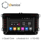 Ownice Quad-Core Android 4.4 Car DVD Player for VW Golf Polo Bora CC Jetta Passat Tiguan Caddy