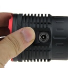FandyFire XM-L T6 7-LED 6000lm Flashlight w/ Battery, Charger - Red