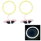 60mm 5W Cold White Highlight Angel Eyes w/ Driver (2PCS, DC 12~24V)
