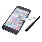Drawing TouchPen Stylus for Phone / Tablet PC - Silver + Black