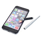 Drawing TouchPen Stylus for Phone / Tablet PC - Silvery White + Black