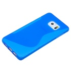 Angibabe Back Cover Case for Samsung Galaxy S6 Edge Plus G9280 - Blue