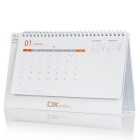 DX 2016 Desk Calendar with 12 Months Coupon Codes - White (Value $168)