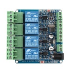 4 Channel Relay Module Programmable With RS485 Microcontroller STM8S103F3 For Arduino PIC AVR ARM
