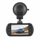 "DAB201 Quad HD 1440P 170' Wide Angle Car DVR w/ 2.7"" TFT, LDWS, FCWS - Black"