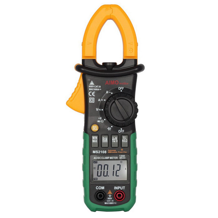 Anemometer ms2108 digitale Gleichstrom-Clamp Meter Multimeter