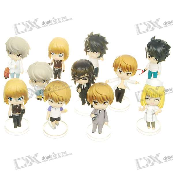Death Note Figures Toy - Assorted (11-Figure Set) love note