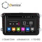 Ownice C180 Quad Core Android 4.4 Car DVD Player For VW Golf Polo Bora CC Jetta Passat Tiguan Caddy