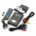 "2.5"" SATA Hard Disk/SD Card 1080P HD Media Player - Black"