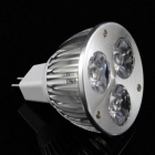 MR16 3W LED Spotlight Bulb Lamp Light Cold White 200lm - White (5PCS)