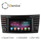 Ownice C200 2G RAM 1024*600 Quad Core Android 4.4 Car DVD Player For Mercedes Benz W211 E CLS E280
