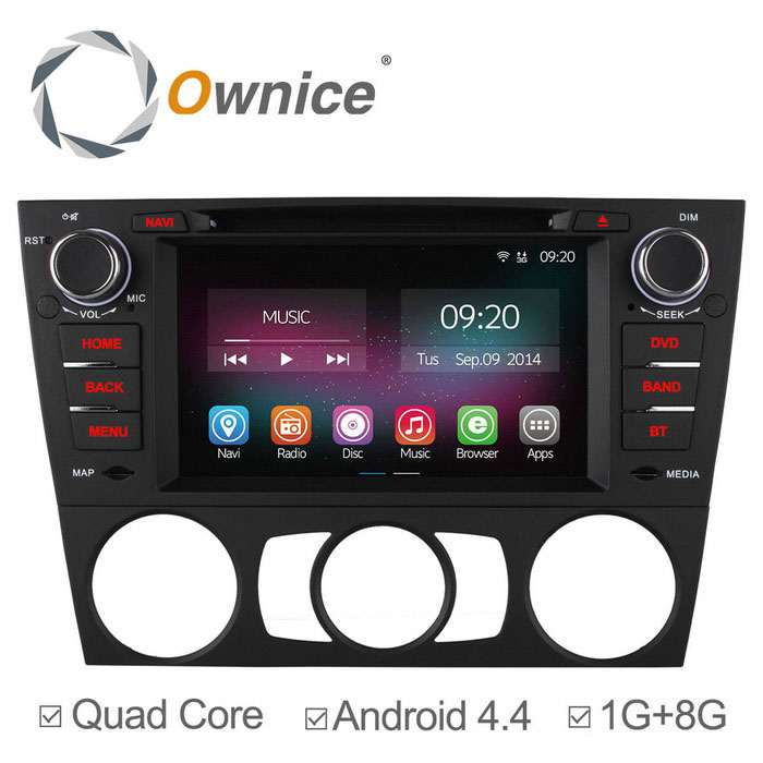Ownice C200 android 4.4 coche reproductor de DVD para BMW 3 series + más