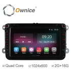 Ownice C200 2G RAM 1024*600 Quad-Core Android 4.4 Car DVD Player for VW Polo / Jetta / Golf & More