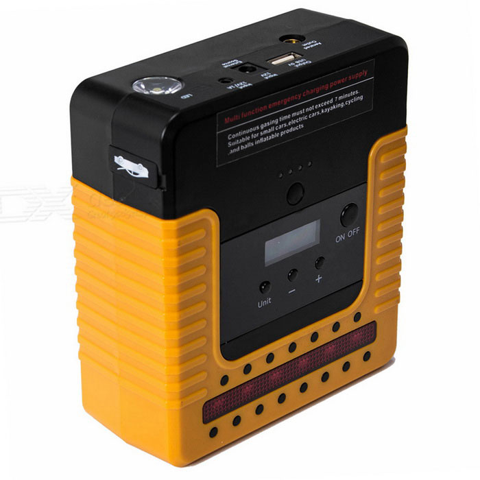 CARKING 16800mAh Auto-Starter-Power-Bank mit Explosion Bump - orange + schwarz