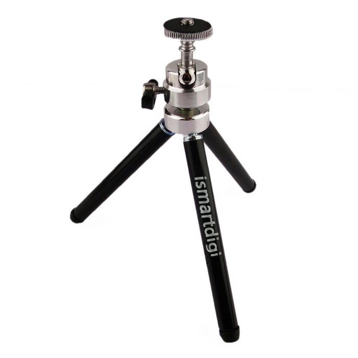 ismartdigi iR-11-BK 2 Layer 3-Section Camera Tripod (Black)