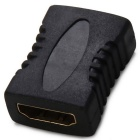 HDMI M-F + HDMI F-F Adapter for Game Consoles / HDTV - Black