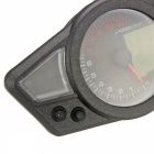 Multifunction LCD Digital Motorcycle Speedometer + Tachometer+ Odometer + Fuel Level Gauge Meter