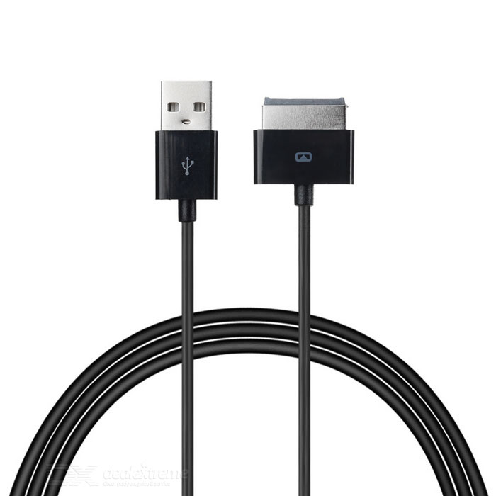 CY USB 2.0 to 40Pin Data Charging Cable for ZTE Light Tab - Black (1m)