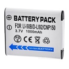 "3.7V ""1000mAh"" Li-ion Battery for TG850 SP810 SP820 VR350 SZ20 SZ15 SZ31 XZ1 + More"